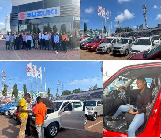 MOOVE PARTNERS WITH CFAO TO PROVIDE SUZUKI VEHICLES TO UBER DRIVERS IN GHANA