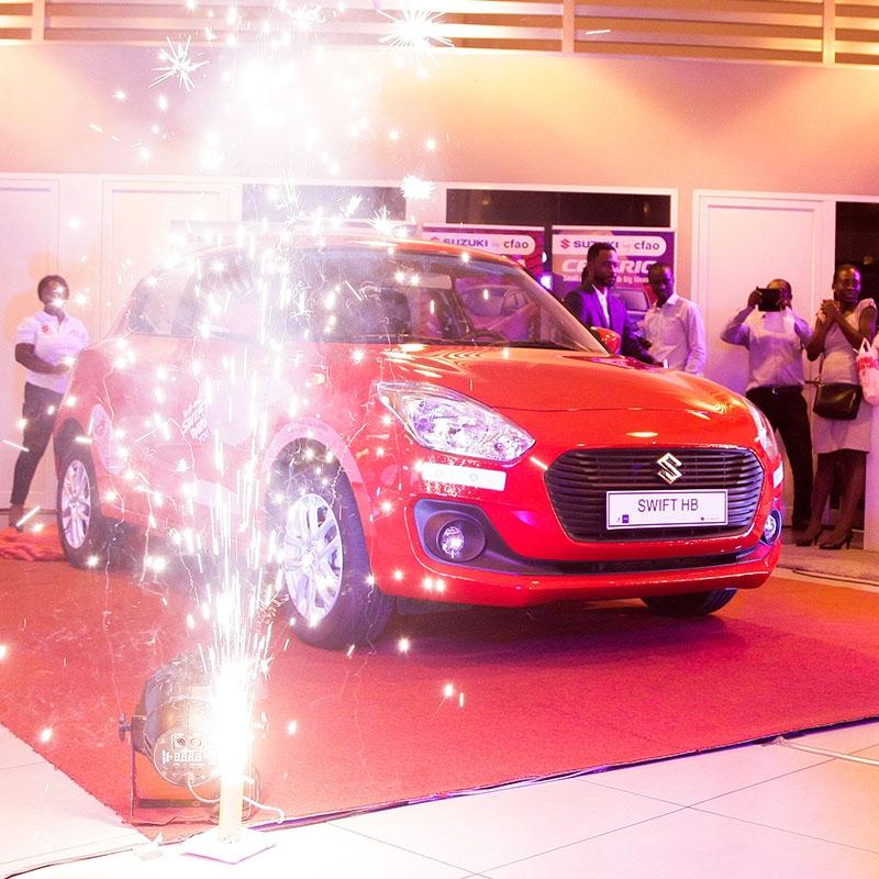 CFAO launches 'Suzuki Swift' in Ghana